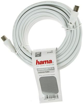 Hama Antennijohto 75Db 10M Valkoinen