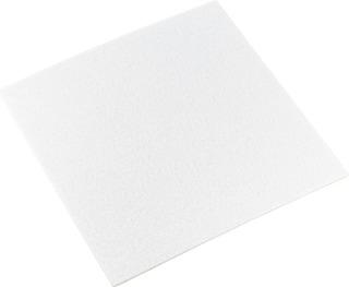 Lattiasuoja 200X200mm Valkoinen
