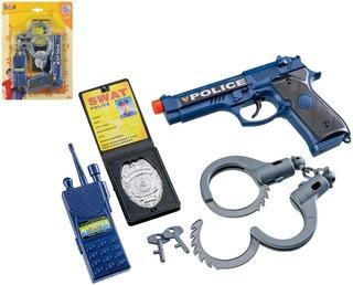Poliisin Tarvikesetti 5-Osainen