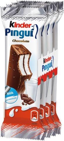 Kinder Pingui Kylmävälipala Suklaapäällysteellä 4X30g