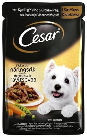 Cesar Kanaa & Vihanneshöystöä 100G