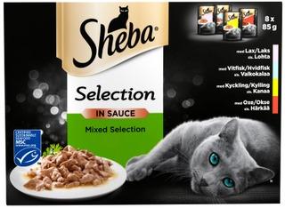 Sheba Selection Valikoidut Reseptit Kastikkeessa 8X85g