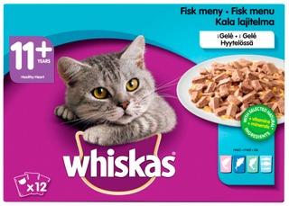 Whiskas 11+ Kalalajitelma Hyytelössä 12X100g