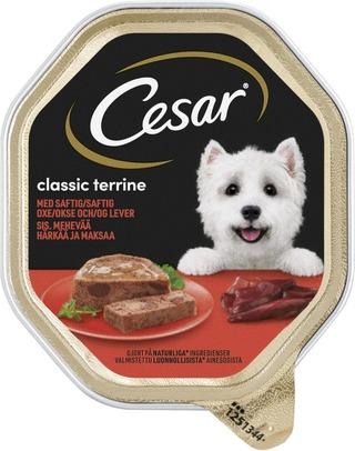 Cesar Classics Häränlihaa & Maksaa 150G