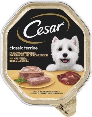 Cesar Classics Kanaa & Härkää 150G