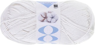 Prym neulelanka Perfect Cotton 100g valkoinen