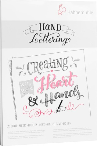 Hahnemühle Hand Lettering Lehtiö A4