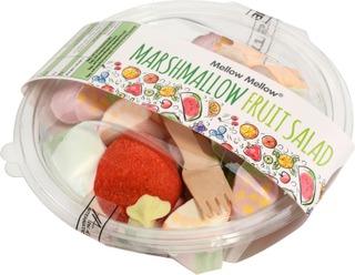 Mellow Mellow 160G Vaahtokarkki Fruit Sallad Retro Jar