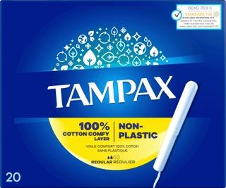 Tampax Tamponi Regular 20Kpl