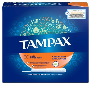 Tampax tamponi Super Plus 20kpl