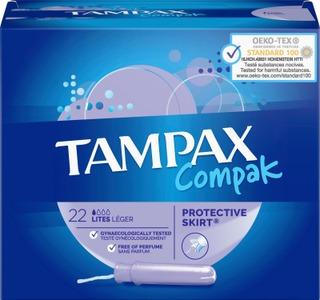 Tampax 22Kpl Compak Lites Tamponi
