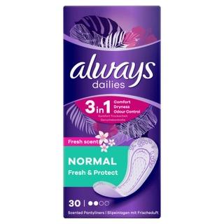 Always 30kpl Fresh Normal pikkuhousunsuoja