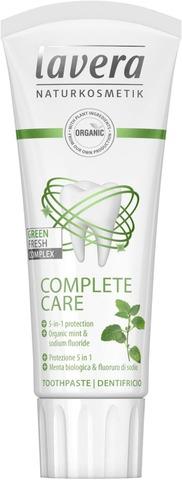 Lavera Complete Care Green Fresh Complex Toothpaste Hammastahna 75Ml