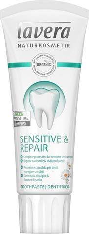 lavera Sensitive & Repair Green Sensitive Complex Toothpaste hammastahna 75ml