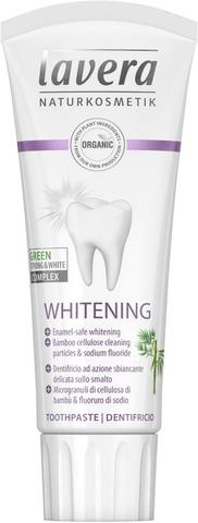 Lavera Whitening Green Strong & White Complex Toothpaste Hammastahna 75Ml