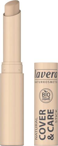 Lavera Cover & Care Stick - Peitepuikko 1,7G Ivory 01
