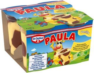 Dr.oetker Paula Vaniljavanukas Ja Suklaatäplät 4X125 G