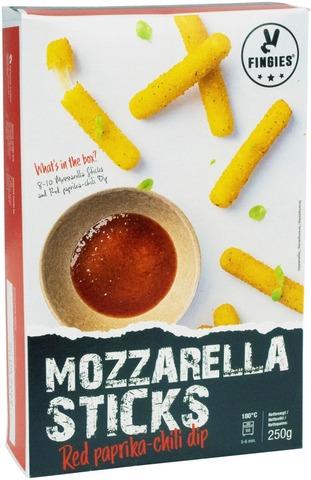 Feel Good Food Mozzarella Sticks Ja Dippi 250G