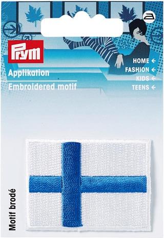 Prym merkki Suomen lippu