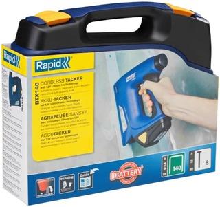 Rapid Sinkiläpistooli Btx140 Akkukäyttöinen