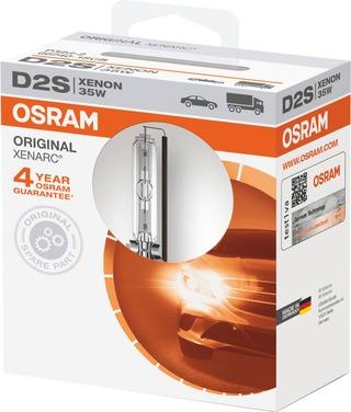 Osram Polttimo D2s Xenarc Xenon 35W 3200Lm