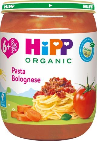 Hipp 190G Luomu Pasta Bolognese 6 Kk
