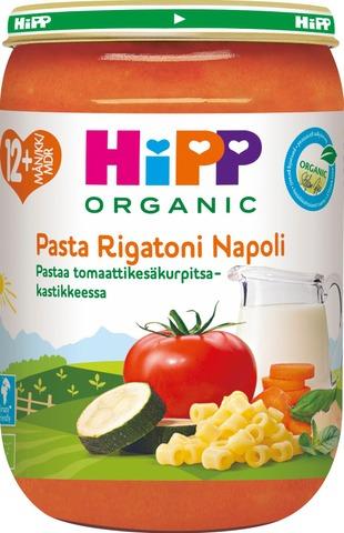 Hipp 220G Luomu Pastaa Tomaatti-Kesäkurpitsakastikkeessa 12Kk