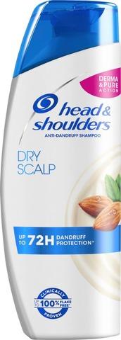Head&Shoulders 225Ml Instant Dry Scalp Care Shampoo