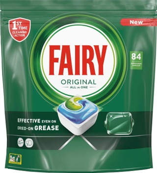 Fairy 84Kpl Original All In One Astianpesuainetabletti
