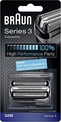 Braun 32B Black Cassette Terä Ja Teräverkko