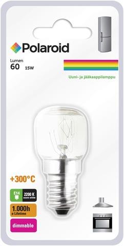 Polaroid T22 Uuni- Ja Jääkaappilamppu 230V 15W E14 Himmennettävä