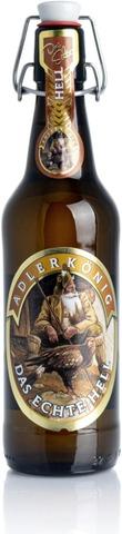 Höss Adler König Das Echte Hell 50cl plo 4,7% Vaalea lager
