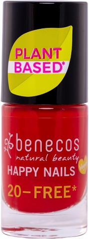 Benecos Happy Nails Nail Polish - Kynsilakka Vintage Red 5Ml