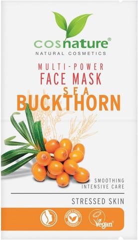 Cosnature Multipower Face Mask Seabuckthorn - Kasvonaamio Tyrni 2 X 8Ml