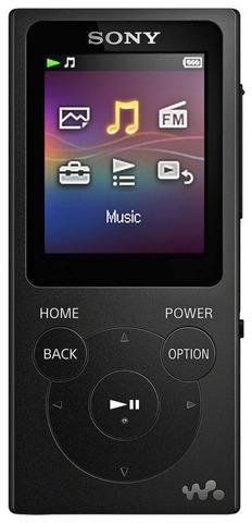 Sony Walkman Nw-E394 Musta