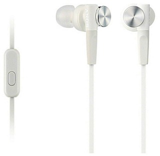 Sony Mdr-Xb50ap Extra Bass -Nappikuulokkeet Valkoinen