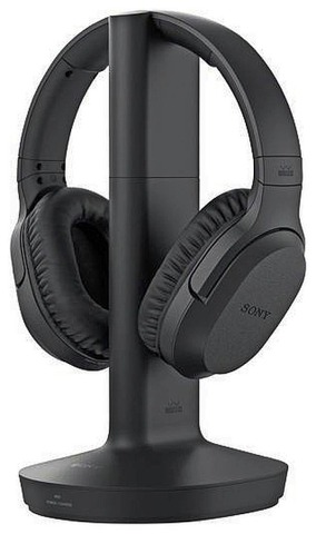 Sony Mdr-Rf895rk Rf-Kuulokkeet Televisiolle Musta