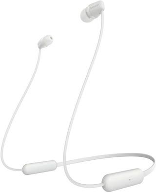 Sony Wi-C200 Bluetooth Nappikuuloke Valkoinen