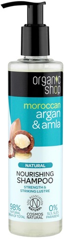 Organic Shop Argan & Amla Shampoo 280 Ml