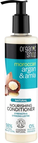 Organic Shop Argan & Amla Hoitoaine 280 Ml