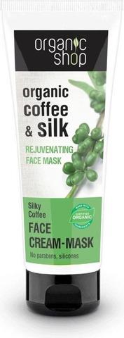 Organic Shop Silky Coffee Kasvonaamio 75 Ml