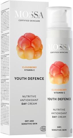 Mossa Youth Defence Nutritive Antioxidant Päivävoide, 50Ml
