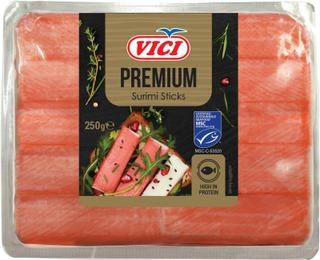 Chilled Snow Crab Surimi Sticks 250G Red Vici