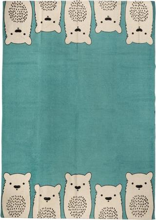 House Puuvillamatto Karhu 140 X 200 Cm Sininen