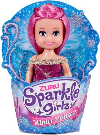 Sparkle Girlz Talvi Pikkunukke 10 Cm