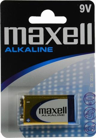 Maxell 6Lr61 Alkaliparisto 9V