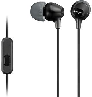 Sony Mdr-Ex15ap Nappikuulokkeet Musta