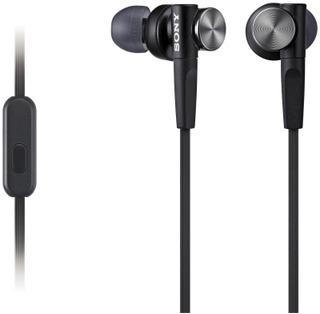 Sony Mdr-Xb50ap Extra Bass -Nappikuulokkeet Musta