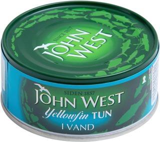 John West Yellowfin Tonnikalaviipaleet Vedessä  160G/112G