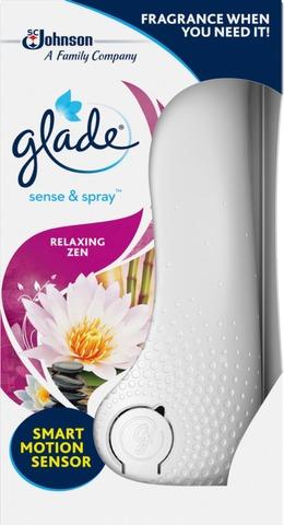 Glade Sense & Spray 18Ml Relaxing Zen Ilmanraikastinlaite